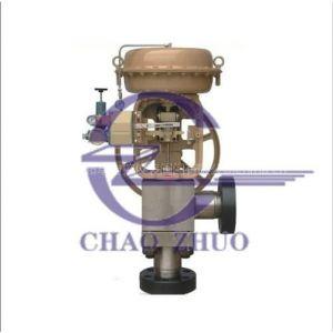 供应hcb型气动平衡笼式调节阀厂家,气动笼式调节阀图片