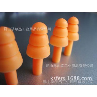 高降噪经济型硅胶耳塞、优质硅胶耳塞批发、硅胶圣诞树型耳塞