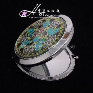 供应欧版化妆镜批发 广告化妆镜定做 礼品小镜子批发 商务礼品镜子