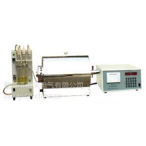 供应WDL-8C型智能测硫仪一体硫定硫仪供应商硅碳管异径管电解池