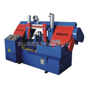 供应昆山GZK4232 双柱龙门式数控带锯床 、昆山博世曲线锯条/昆山磁铁吸盘/带锯条磨齿机的价格