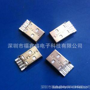 供应USBA公焊线一体式连接器