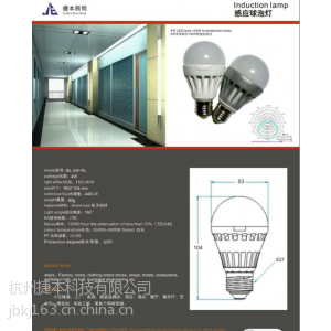 供应(捷本照明)感应球泡灯