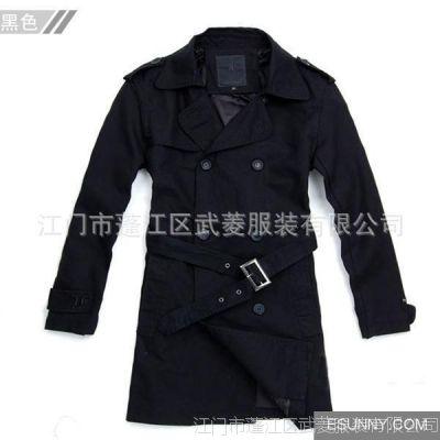 服装厂批发各款服饰  定做服装 百依百顺服装中长装风衣