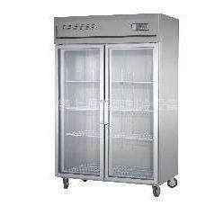 供应双门展示柜  超市制冷