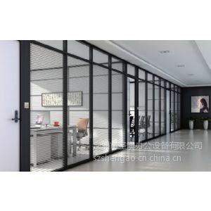供应单波隔墙 优质隔断团购价 深圳圣澳玻璃隔断厂家直销 西丽的玻璃隔断