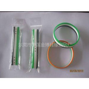 供应超值批发多款硅胶运动手环 NBA手环 100%高档硅胶制品