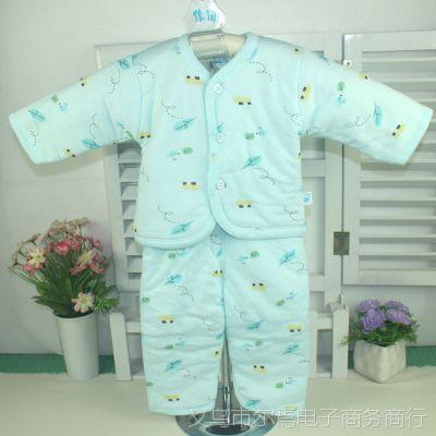 秋冬款 婴幼儿保暖内衣 新生儿内衣裤 儿童保暖棉衣 2件套装