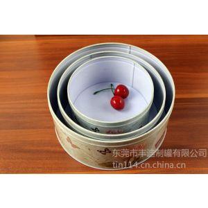 供应盒中盒礼品包装铁桶,马口铁圆形罐子,外金属包装制品