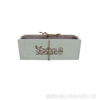 zakka 生态良品 长方形花盒 园林园艺花园工具 厂家直销