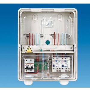 供应透明单相二位多功能阻燃电表箱