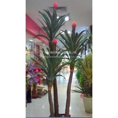 厂家直销 仿真鸿运当头 仿真巴西盆景客厅装饰PU假植物盆栽