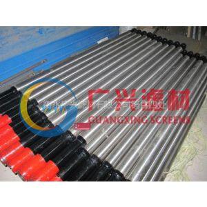 供应梯形丝不锈钢石油井滤水管 梯形丝过滤管 楔形丝筛管