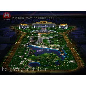 供应钦州市行政中心广场夜景照明设计方案