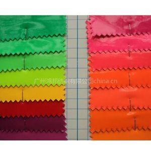 供应荧光皮革 PU皮革面料 软包革
