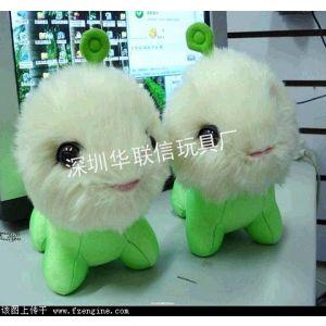 供应深圳专业生产新版毛绒娃娃厂家七号工厂,可来图来样订做