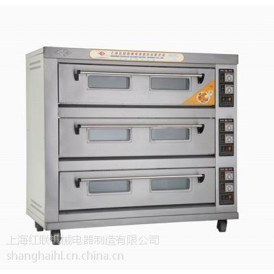 供应【厂家直供】供应宏联牌三层九盘电烤炉\\食品烘炉、烤箱