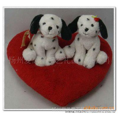 供应斑点狗-情侣玩具-爱心玩具-毛绒玩具-情人节礼品-工艺礼品-玩偶狗