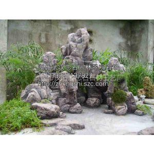 供应湖北武汉景观石_武汉奇石塑石·塑树·泉景