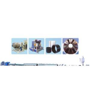 HDPE管生产线_PE管机械_PE塑料管生产线 西藏青海甘肃地区专供