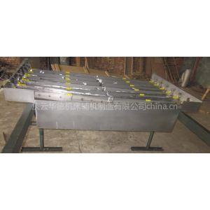 供应碎屑防护罩-数控机床钢板防护罩-伸缩钢板护罩