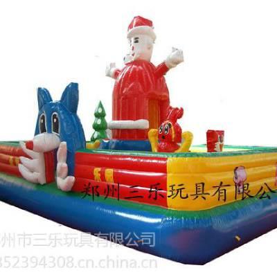 供应儿童充气城堡图片/圣诞老人充气城堡/充气城堡超级给力