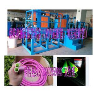 供应双色硅胶管挤出机设备,双层硅胶管挤出机设备,硅胶管设备