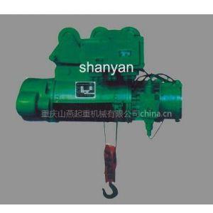 供应重庆钢丝绳BCD防爆电动葫芦厂家