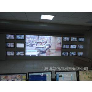 上海博慈三星LG DID55寸液晶拼接屏 电视墙 前维护支架 供应全国
