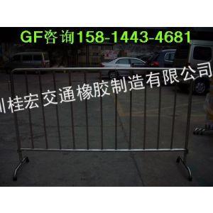 供应新楼盘必不可少的不锈钢铁马围栏GF不锈钢活动铁马价格