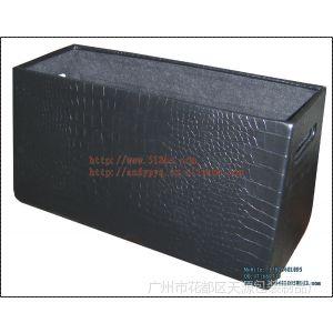 供应 实用时款梯形PVC家居收纳箱