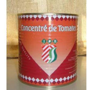 供应出口非洲番茄酱罐头800克