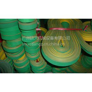 供应黄绿尼龙片基带 高速平皮带 纺织机械皮带 印刷机械传动带