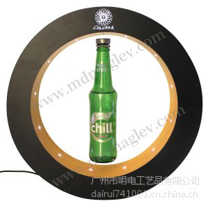 供应led亚克力酒瓶旋转展示架 可以雕刻印制品牌商标 欢迎广大客户来样订做