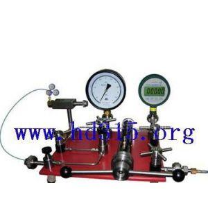 供应气瓶减压器检定台