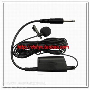 供应SH-30L领夹电容有线话筒 古筝扬琴等乐器演奏用麦克风 线6米 头领