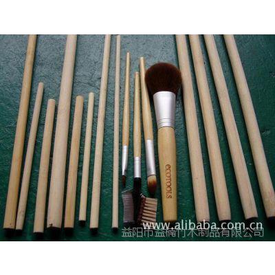 供应益楠竹木生产厂家可定制各种规格尺寸化妆刷柄方料板竹板材竹子板