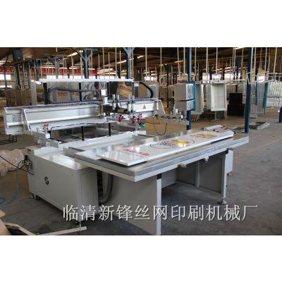供应山东四柱式玻璃印刷设备 导光板丝印机 冰箱面板丝印机