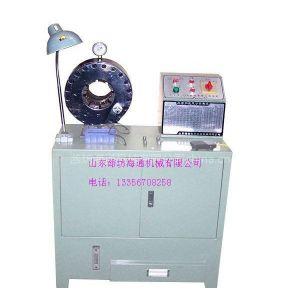 供应液压油管接头扣压机