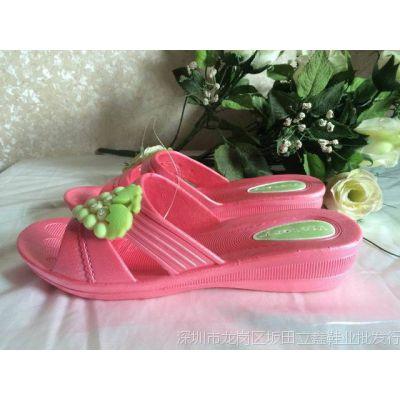 外贸拖鞋吹气女式凉拖拖 家居拖鞋 防滑拖鞋大量现货供应一件代发