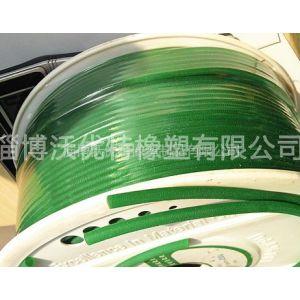 供应弹性好热塑性聚氨酯传送带 圆形5mm开口PU聚氨酯胶条可接O型圈
