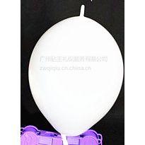 供应【钻王气球】12英寸进口针尾气球批发婚庆连接球装饰生日派对现场地布置用汽球氦气球可飘空25cm直径