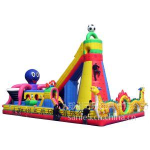 供应欢乐八爪鱼儿童充气城堡200平方米大型城堡震撼眼球