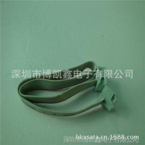 供应2013深圳厂家提供IDC2.54电子连接线 端子线 彩排线 DIP排线 2651