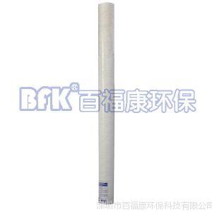 供应净水器前置滤芯 40寸pp滤芯 带骨架pp棉滤芯 聚丙烯材质