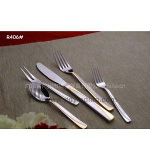 供应银貂餐具供应:各款精美的镀金筷子