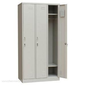 钢制2门3门4门6门员工更衣柜二三四六门更衣箱 包邮加厚款