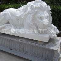 供应河北石雕厂,石雕狮子报价