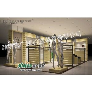 供应潍坊服装展柜|展示柜|展台|展示架|柜台|货架1009
