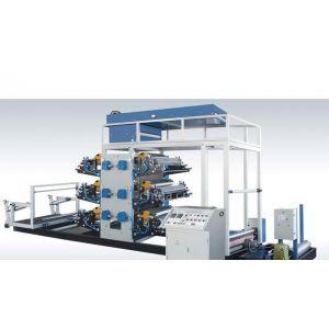 供应塑料编织袋连续印刷机(四、六色)沙克塑机